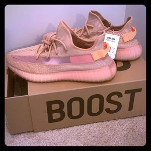 New in Box Yeezy Originals Size 14 Clay NWT